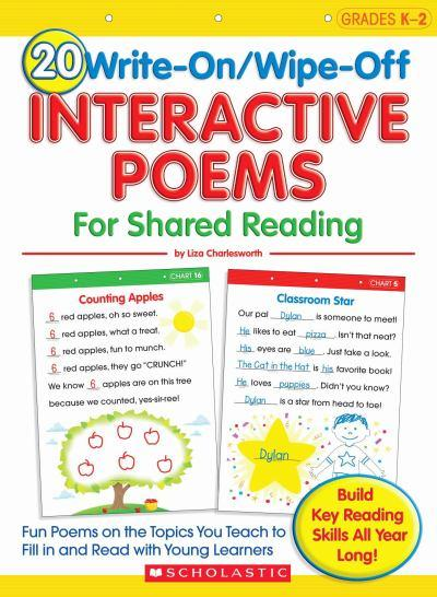 write on wipe off interactive poems